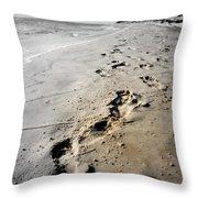 Coastal Walks Throw Pillow