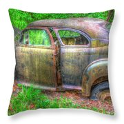 Coat Of Different Colors- Auto Personalities #3 Throw Pillow