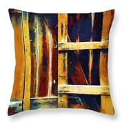 Cobbled Together Throw Pillow