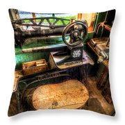 Cobblers Sewing Machine Throw Pillow