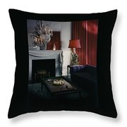 Cobina Wright's Living Room Throw Pillow