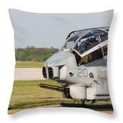 Cobra Cooldown Throw Pillow