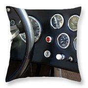 Cobra Dash Throw Pillow