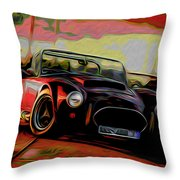 Cobra Throw Pillow