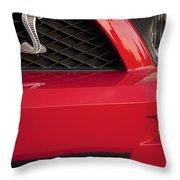 Cobra Grille Emblem Throw Pillow