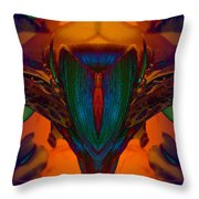 Cobra Plant Throw Pillow