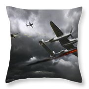 Cobra Strike Throw Pillow