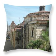 Coca Cola And The Catedral Number Two Throw Pillow