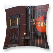 Coca Cola On The Corner Throw Pillow