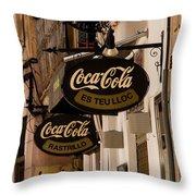 Coca-cola Throw Pillow