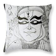Cochin Portrait Throw Pillow