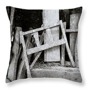 Beauty In Scrap Throw Pillow