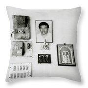 Cochin Shrine Throw Pillow