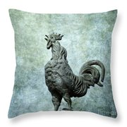 Cock Throw Pillow