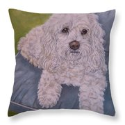 Cockapoo Throw Pillow