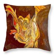 Cockerel 0450 Marucii Throw Pillow