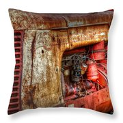 Cockshutt Tractor Throw Pillow