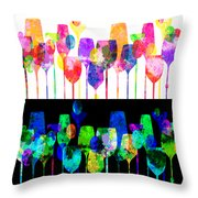 Cocktail Hour 2 Throw Pillow