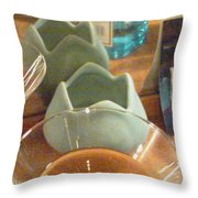 Cocktail Party 1 1211 Throw Pillow