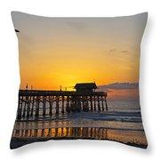 Coco Beach-760 Throw Pillow