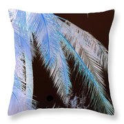 Coconut Palm - Reunion Island - Indian Ocean Throw Pillow
