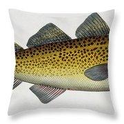 Cod Throw Pillow