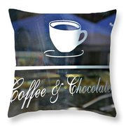 Coffee And Chocolate Throw Pillow