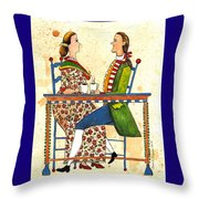 Coffee And Conversation Throw Pillow