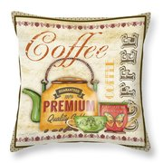 Coffee-jp2573 Throw Pillow