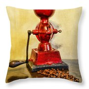 Coffee The Morning Grind Throw Pillow