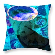 Coffee Time My Time 5d24472p168 Throw Pillow