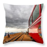 Cog At 14115 Feet Throw Pillow
