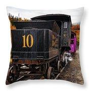 Cog Railway Throw Pillow