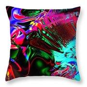 Cognitive Breakdown Throw Pillow