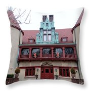 Coindre Hall Entrance Throw Pillow