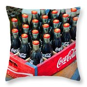 Coke Case Throw Pillow