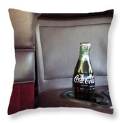 Coke To Go Throw Pillow