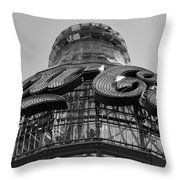 Coca Cola Building Throw Pillow