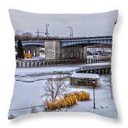 Col Patrick O' Rorke Memorial Bridge Throw Pillow