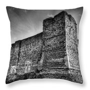 Colchester Castle Throw Pillow