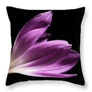 Colchicum #4 Throw Pillow