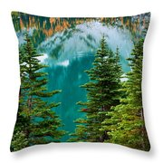 Colchuck Reflection Throw Pillow