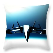 Cold And Hard... Throw Pillow