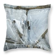 Cold Calculation Throw Pillow