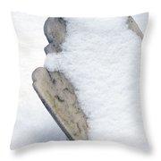 Cold Dead Throw Pillow