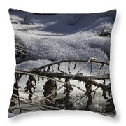 Cold Death Throw Pillow
