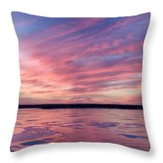 Cold Fire Throw Pillow