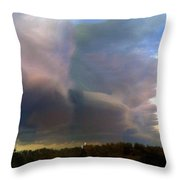Cold Front Throw Pillow