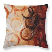 Cold Fusion Throw Pillow
