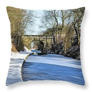 Cold Start Throw Pillow